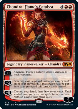 Chandra, Flame's Catalyst - Core Set 2021
