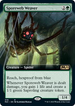 Sporeweb Weaver - Core Set 2021