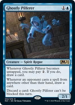Ghostly Pilferer - Core Set 2021