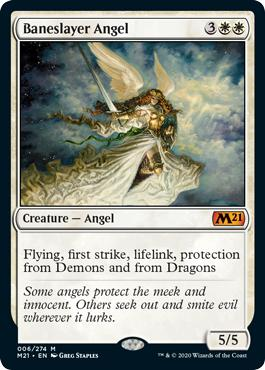 Baneslayer Angel - Core Set 2021