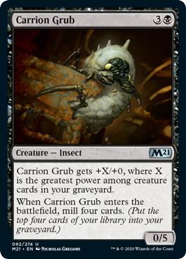 Carrion Grub - Core Set 2021