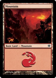 Mountain - Shards of Alara
