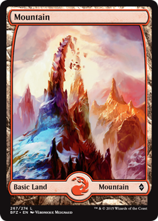 Mountain - Battle for Zendikar