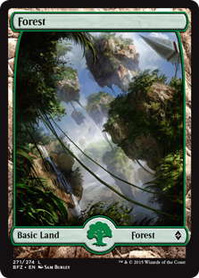 Forest - Battle for Zendikar