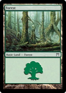 Forest - Champions of Kamigawa