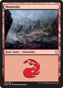 Mountain - Dominaria