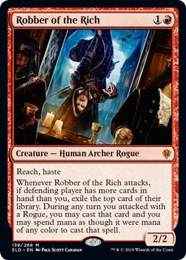 Robber of the Rich - Throne of Eldraine