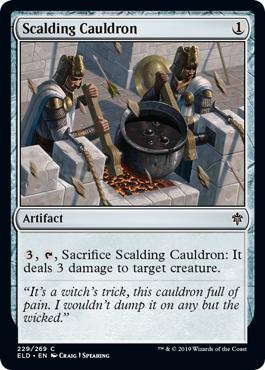 Scalding Cauldron - Throne of Eldraine