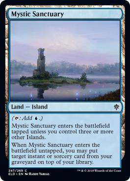 Mystic Sanctuary - Throne of Eldraine