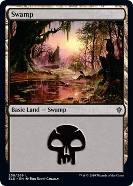 Swamp - Throne of Eldraine