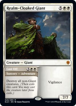Realm-Cloaked Giant - Throne of Eldraine