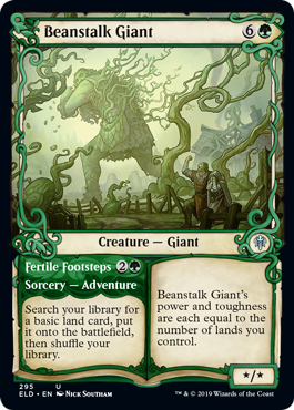 Beanstalk Giant - Throne of Eldraine