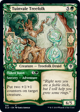 Tuinvale Treefolk - Throne of Eldraine