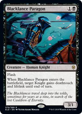 Blacklance Paragon - Throne of Eldraine