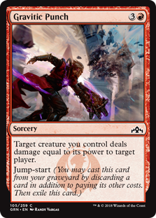 Gravitic Punch - Guilds of Ravnica