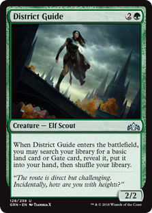District Guide - Guilds of Ravnica