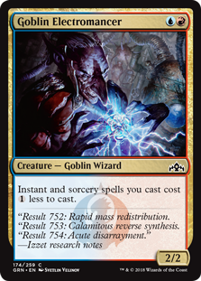 Goblin Electromancer - Guilds of Ravnica