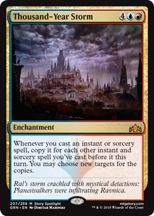 Thousand-Year Storm - Guilds of Ravnica