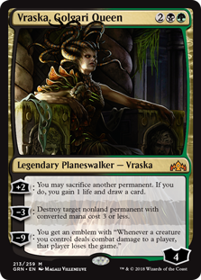 Vraska, Golgari Queen - Guilds of Ravnica