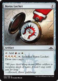 Boros Locket - Guilds of Ravnica
