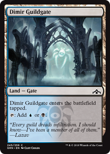 Dimir Guildgate - Guilds of Ravnica