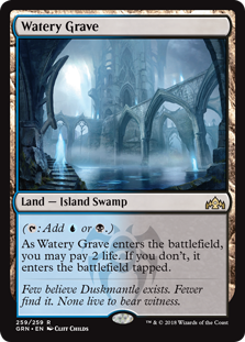 Watery Grave - Guilds of Ravnica