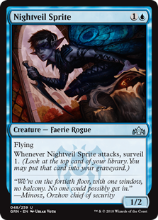 Nightveil Sprite - Guilds of Ravnica