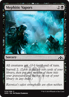 Mephitic Vapors - Guilds of Ravnica