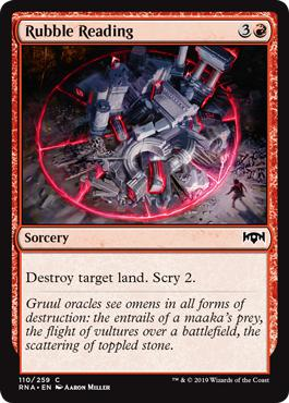 Rubble Reading - Ravnica Allegiance