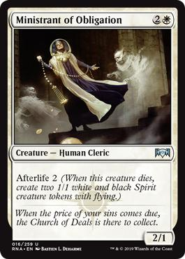 Ministrant of Obligation - Ravnica Allegiance