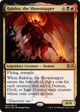 Rakdos, the Showstopper - Ravnica Allegiance