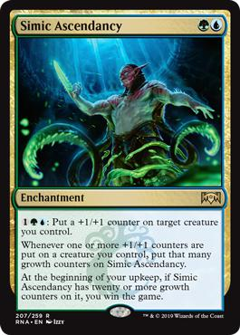 Simic Ascendancy - Ravnica Allegiance