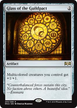 Glass of the Guildpact - Ravnica Allegiance