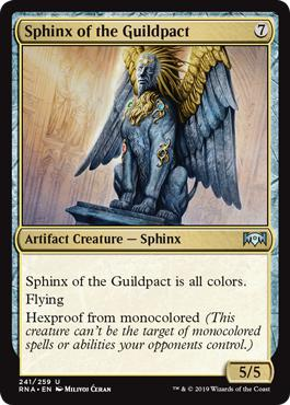 Sphinx of the Guildpact - Ravnica Allegiance