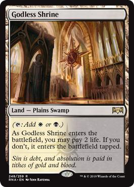 Godless Shrine - Ravnica Allegiance