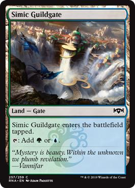 Simic Guildgate - Ravnica Allegiance