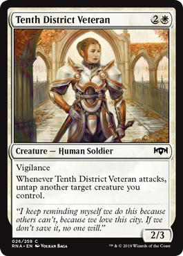 Tenth District Veteran - Ravnica Allegiance