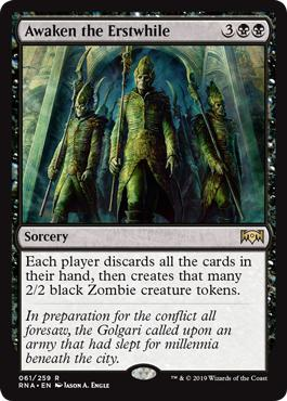 Awaken the Erstwhile - Ravnica Allegiance