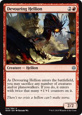 Devouring Hellion - War of the Spark