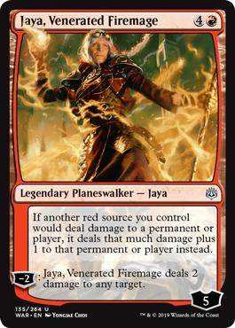 Jaya, Venerated Firemage - War of the Spark