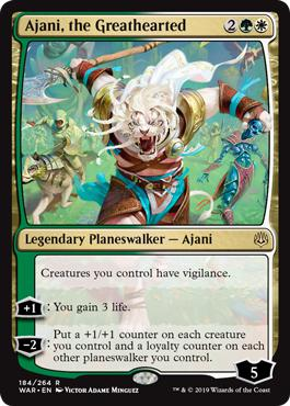 Ajani, the Greathearted - War of the Spark