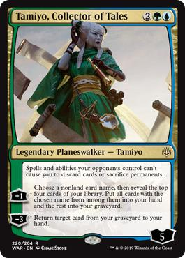 Tamiyo, Collector of Tales - War of the Spark