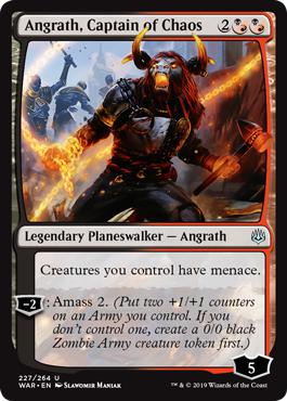 Angrath, Captain of Chaos - War of the Spark