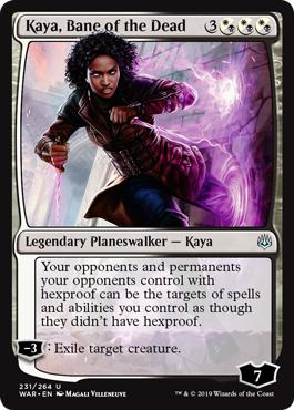 Kaya, Bane of the Dead - War of the Spark