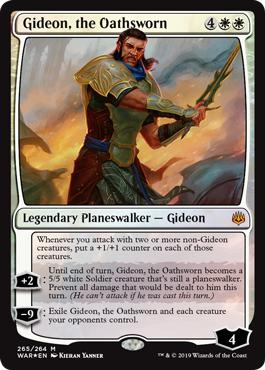 Gideon, the Oathsworn - War of the Spark