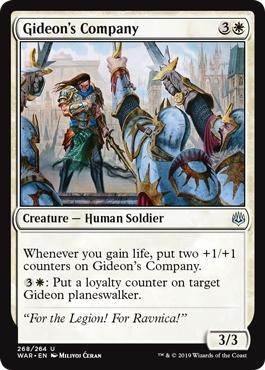 Gideon's Company - War of the Spark