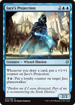 Jace's Projection - War of the Spark