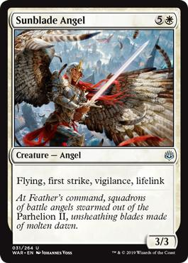Sunblade Angel - War of the Spark