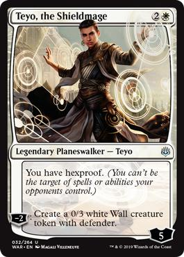 Teyo, the Shieldmage - War of the Spark