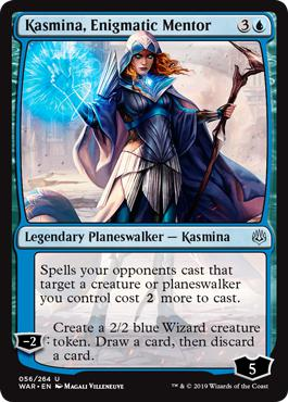 Kasmina, Enigmatic Mentor - War of the Spark